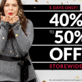 LAne Bryant Black Friday deal 2015