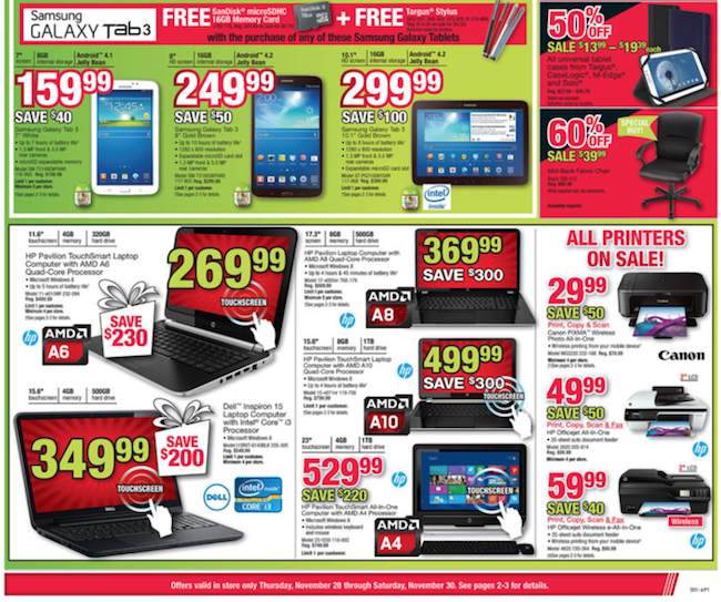 Office Depot Black Friday ad 02