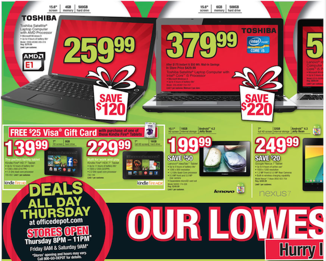 Office Depot Black Friday ad 03