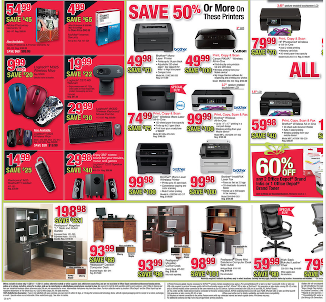 Office Depot Black Friday ad 04