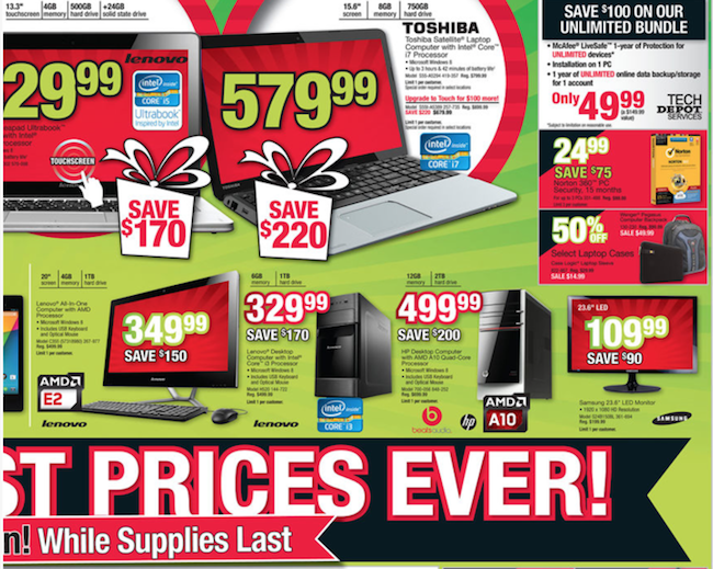 Office Depot Black Friday ad 05