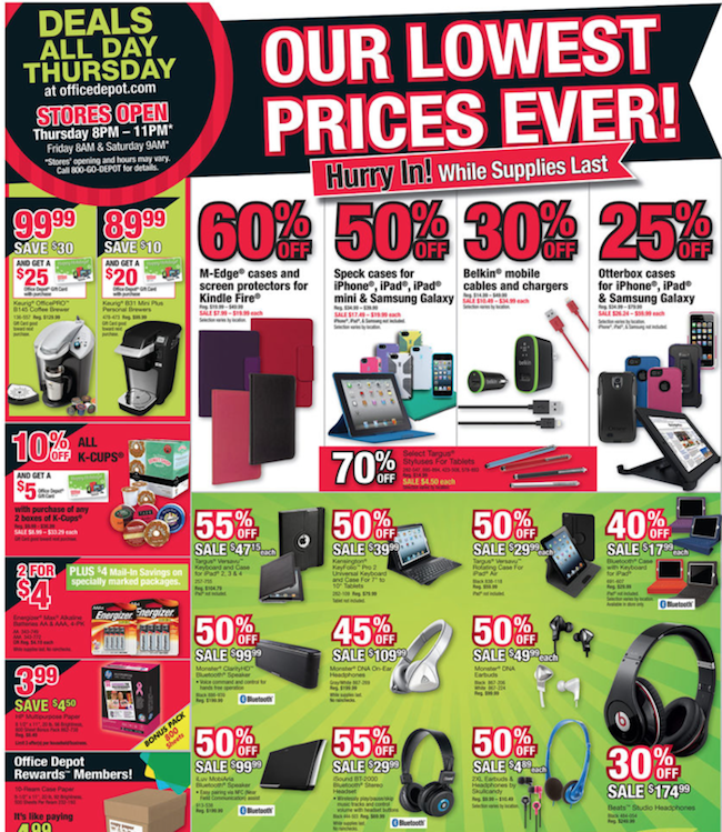 Office Depot Black Friday ad 07
