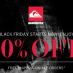 Quiksilver Black Friday Deals