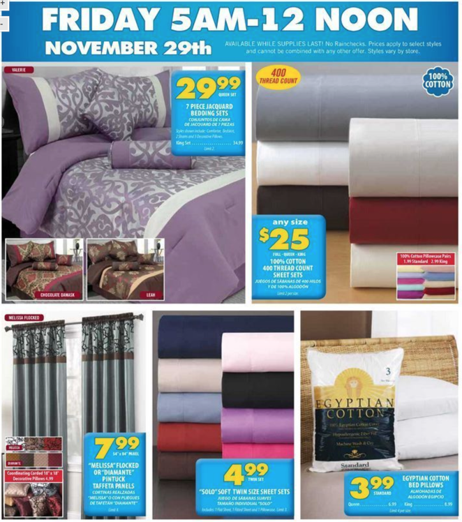 Annas Linens Black Friday 2013