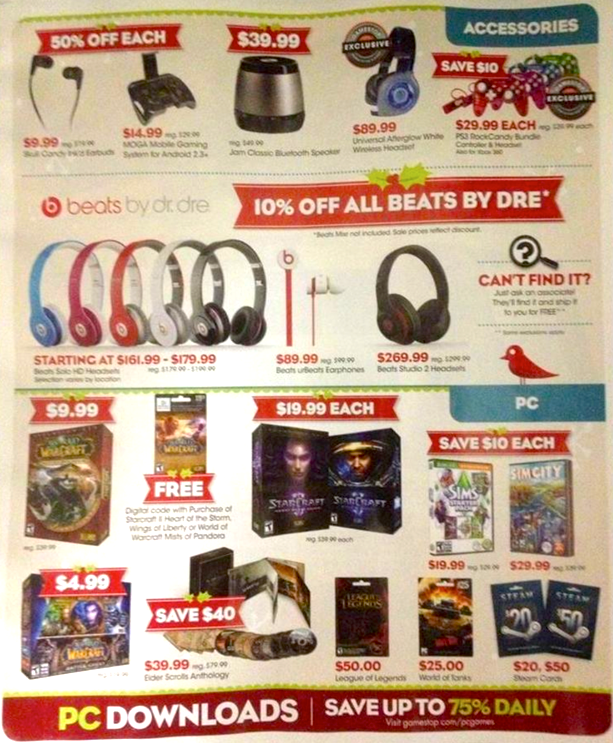 Game Stop Black Friday Ad 07