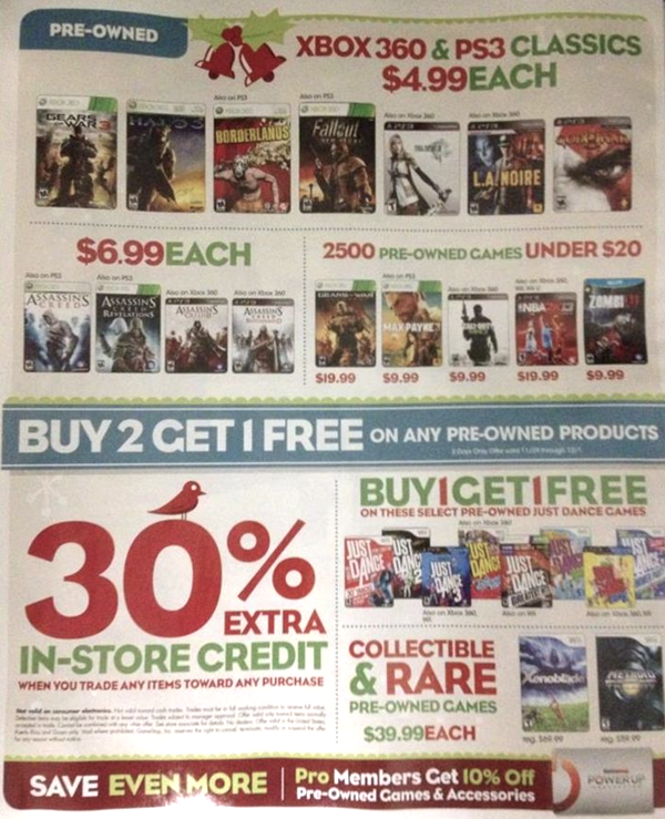 Game Stop Black Friday Ad 10