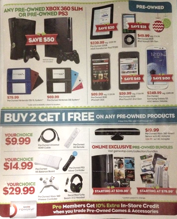 Game Stop Black Friday Ad 11