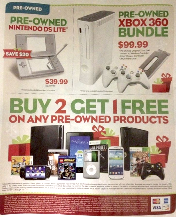 Game Stop Black Friday Ad 12
