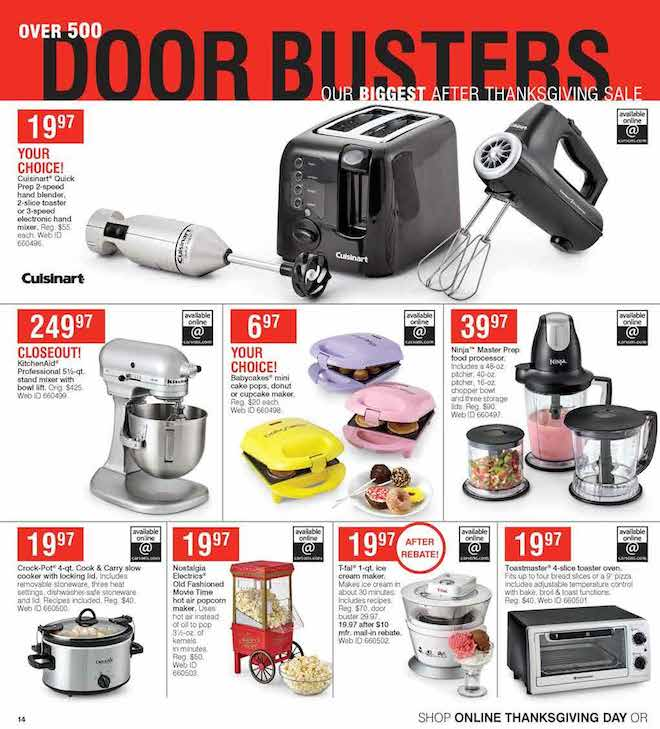 Herbergers Black Friday ad 14
