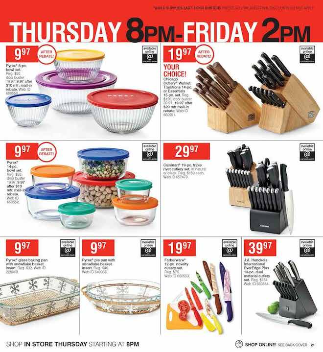 Herbergers Black Friday ad 21