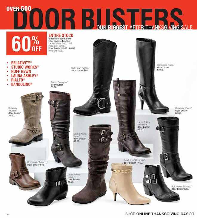 Herbergers Black Friday ad 24