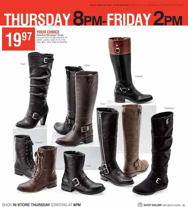 Herbergers Black Friday ad 25