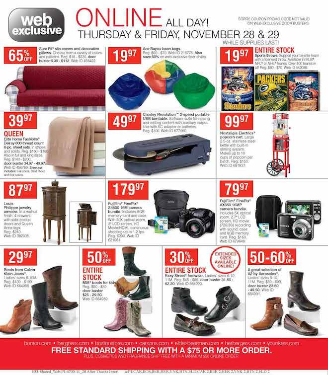 Herbergers Black Friday ad 33
