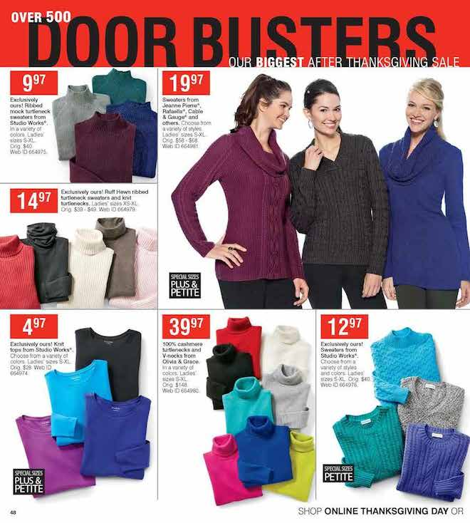 Herbergers Black Friday ad 48