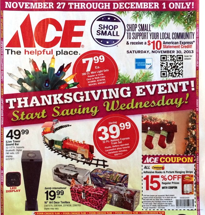 ACE Hardware Black Friday ad