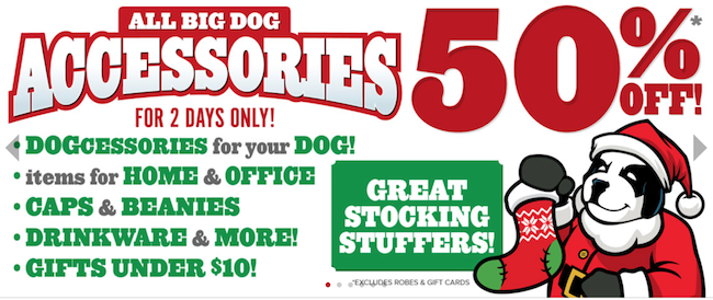 Big Dogs Black Friday ad