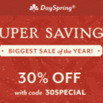 DaySpring Black Friday