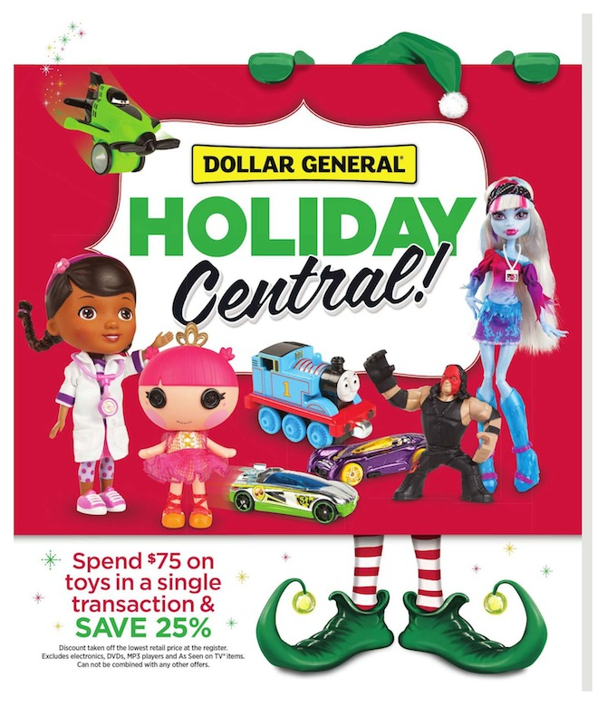 Dollar General Christmas Toys Ad