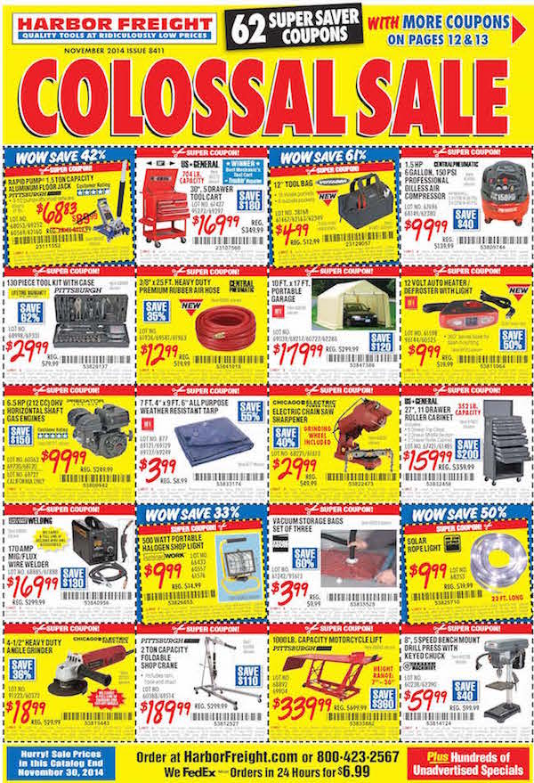 Harbor Freight Catalog : Harbor freight catalog cool tools autos post