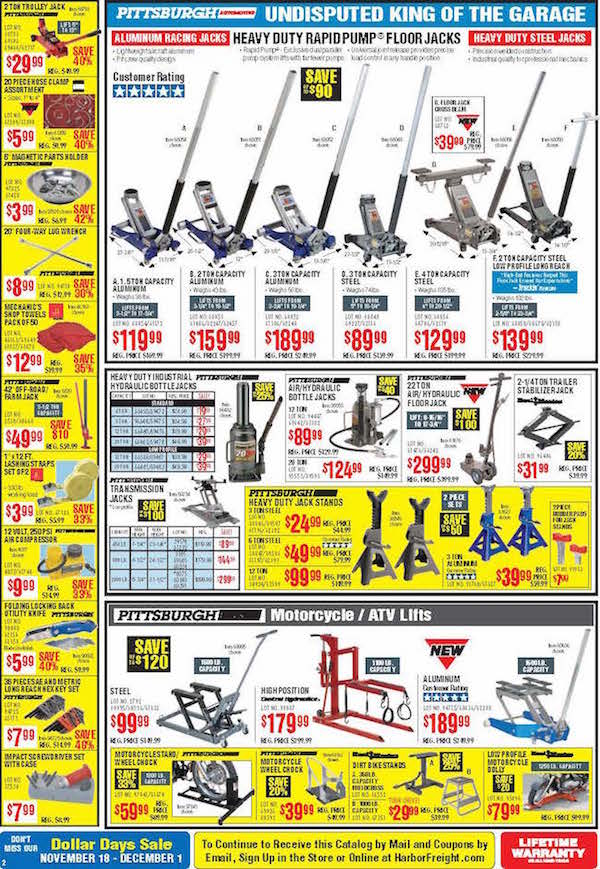 Harbor Freight Tools Black Friday ad 02