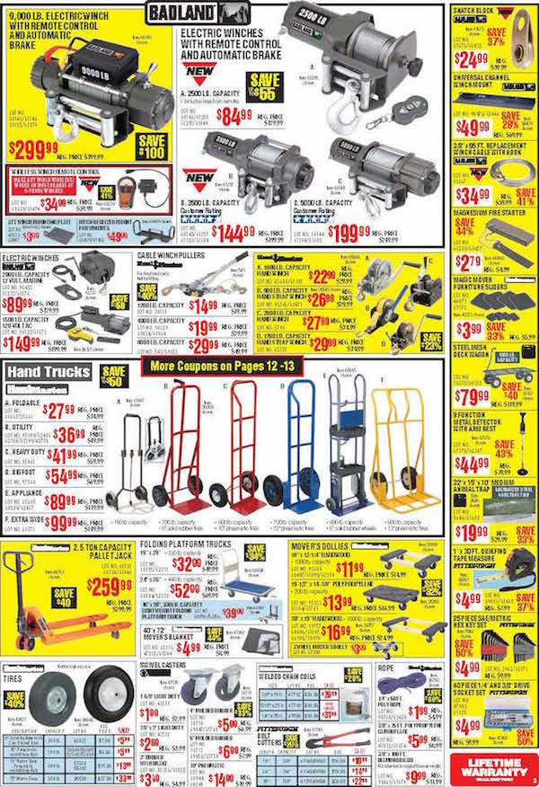 Harbor Freight Tools Black Friday ad 03