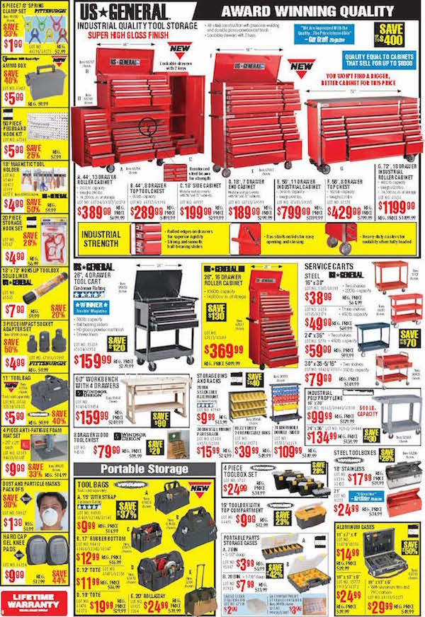 Harbor Freight Tools Black Friday ad 07