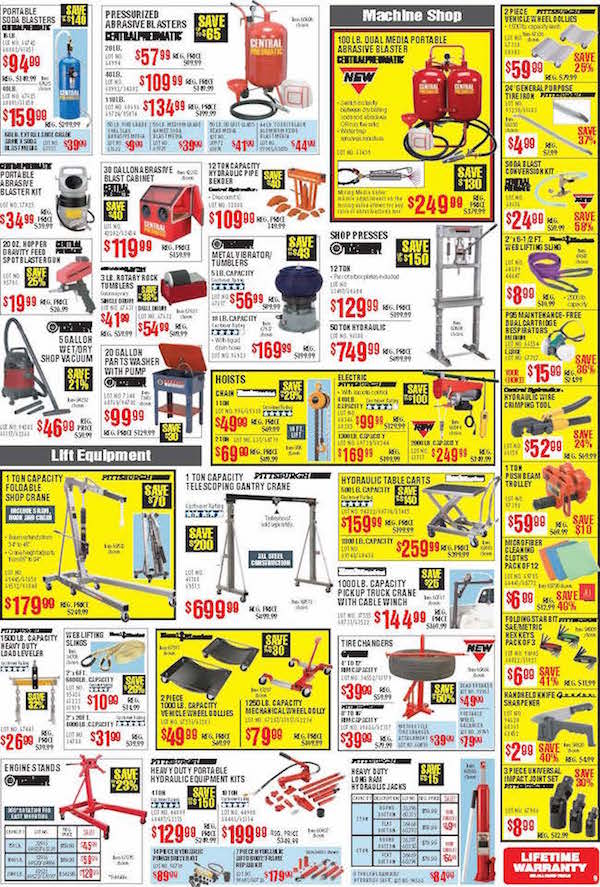 Harbor Freight Tools Black Friday ad 08