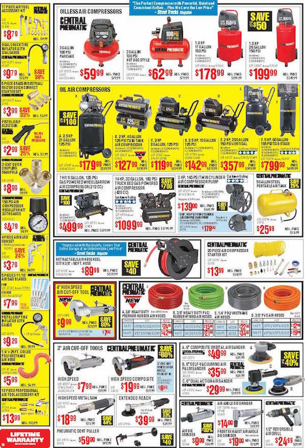 Harbor Freight Tools Black Friday ad 09
