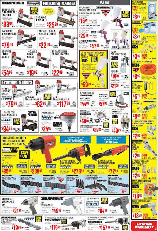 Harbor Freight Tools Black Friday ad 10