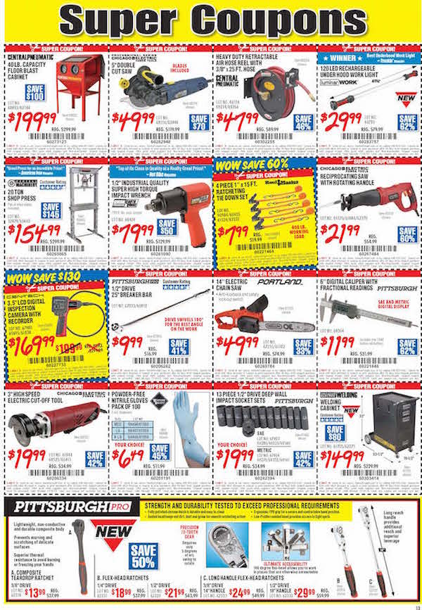 Harbor Freight Tools Black Friday ad 11