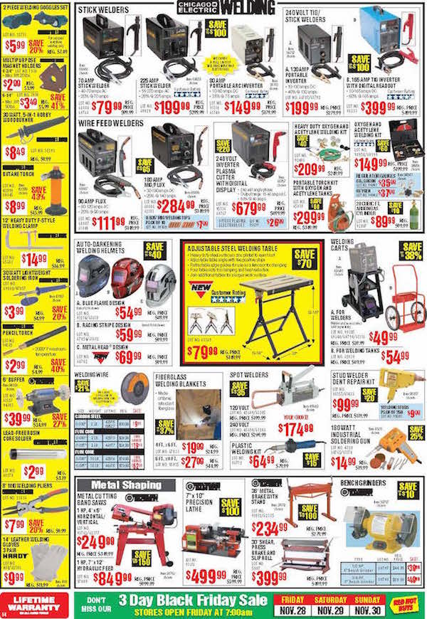 Harbor Freight Tools Black Friday ad 12