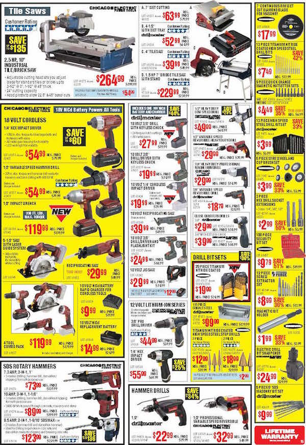 Harbor Freight Tools Black Friday ad 13