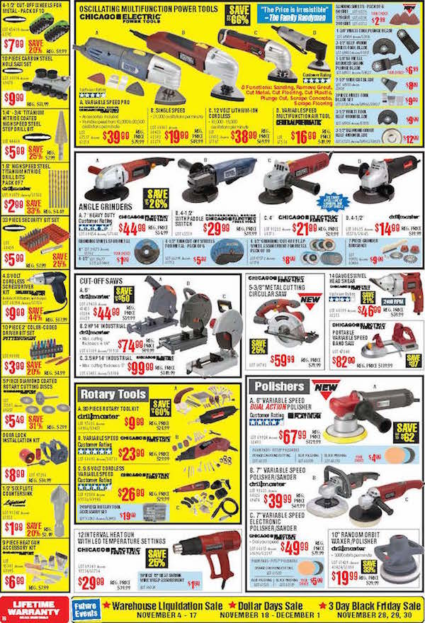 Harbor Freight Tools Black Friday ad 15