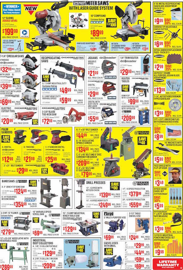 Harbor Freight Tools Black Friday ad 16