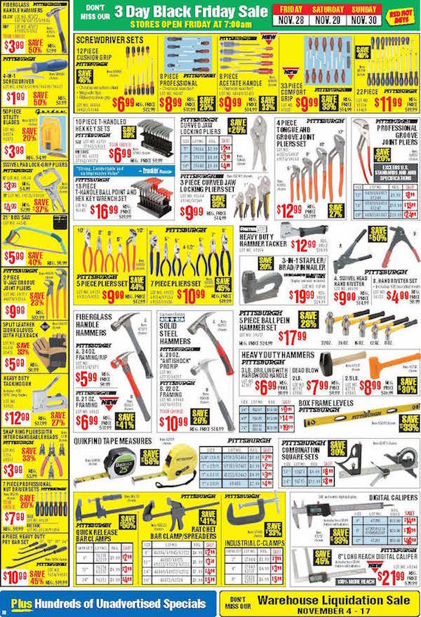Harbor Freight Tools Black Friday ad 17