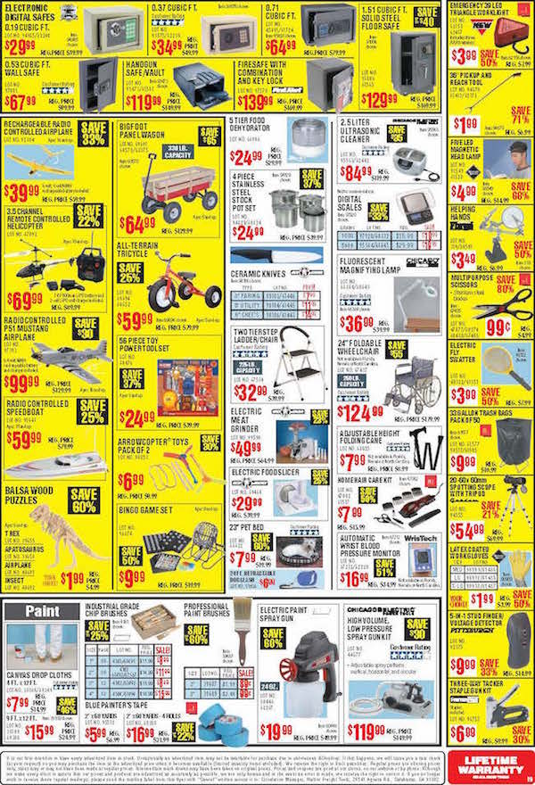 Harbor Freight Tools Black Friday ad 18