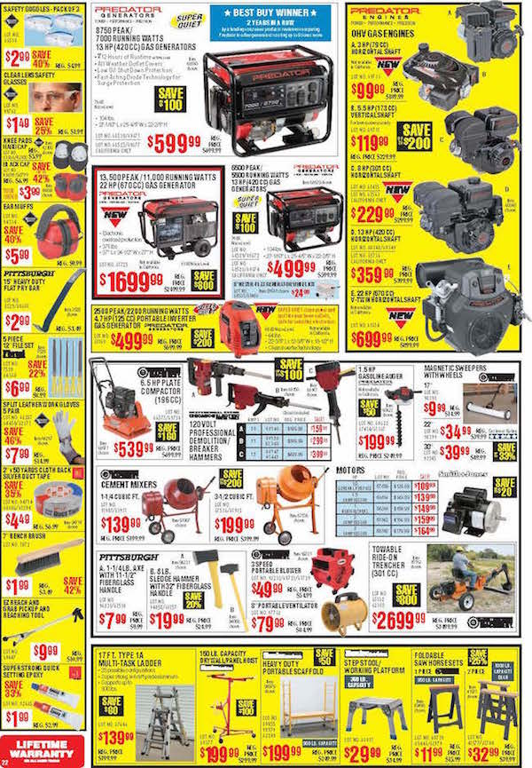 Harbor Freight Tools Black Friday ad 20