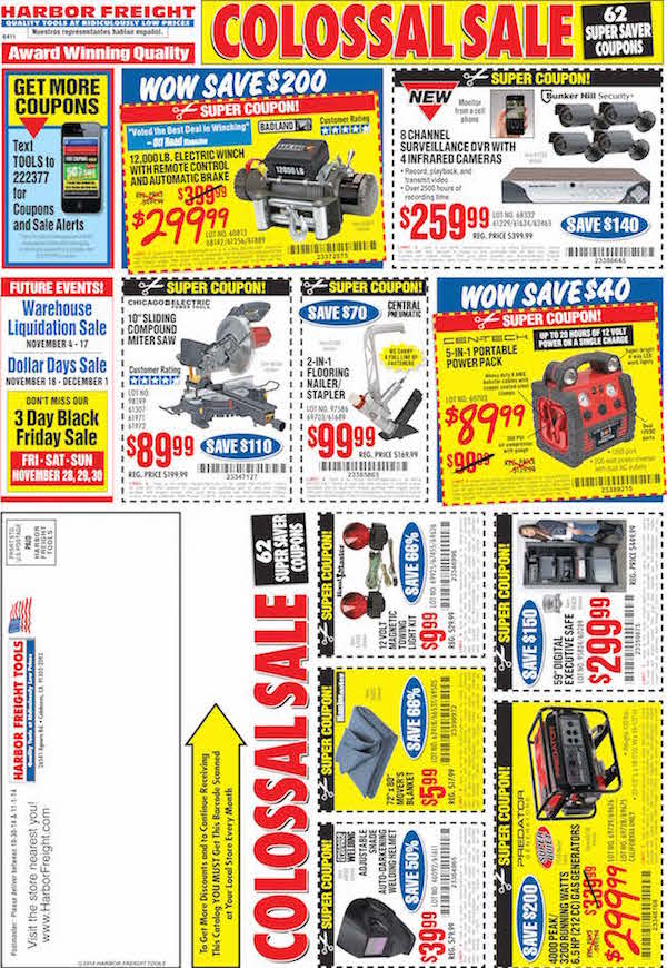 Harbor Freight Tools Black Friday ad 22