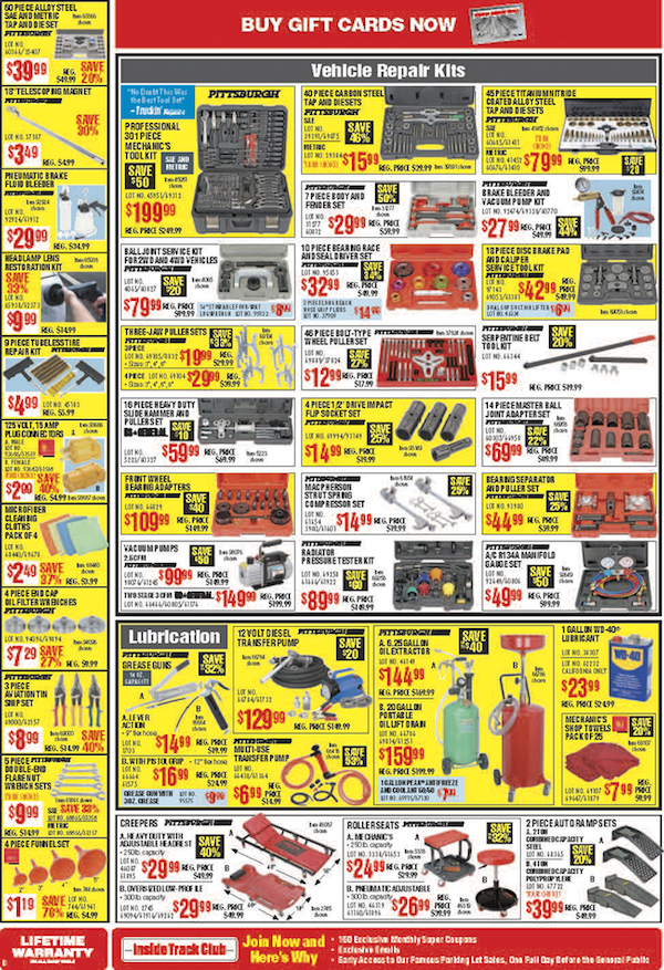 Harbor Freight Tools Black Friday ad 23