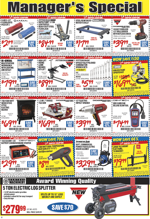Harbor Freight Tools Black Friday ad 24
