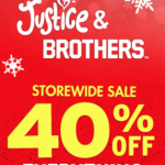 Justice Black Friday 2013