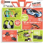 Radio Shack Black Friday ad 2013