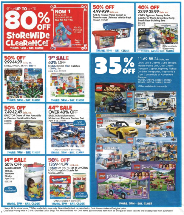 Toys R Us Black Friday flyer