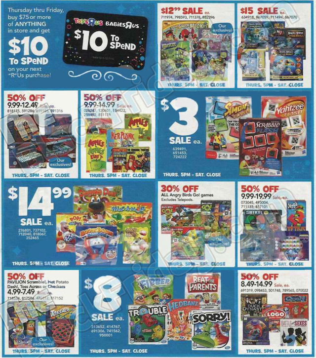 Toys R Us Black Friday ad 2013 07