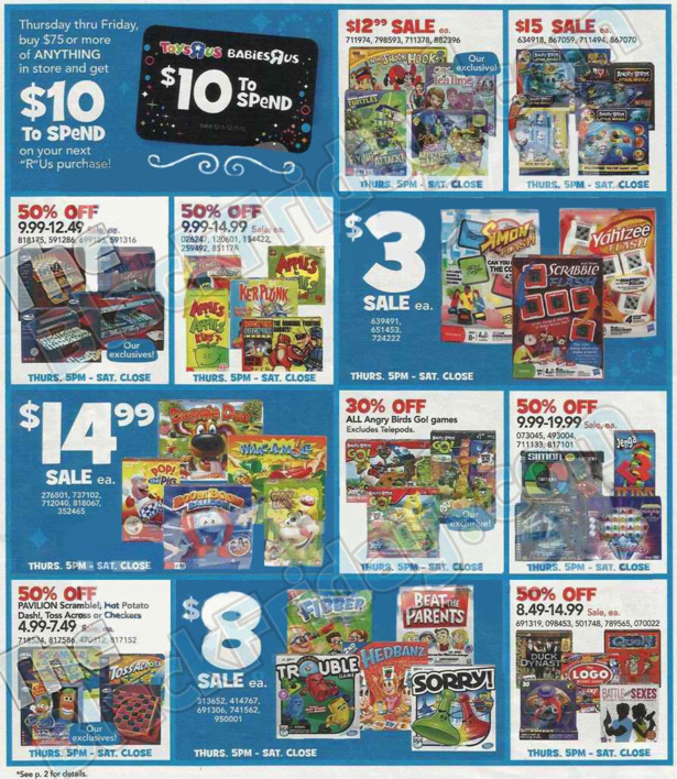 Toys R Us Black Friday ad 2013 08