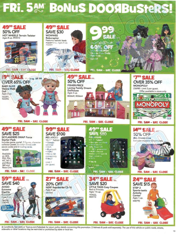 Toys R Us Black Friday ad 2013 13