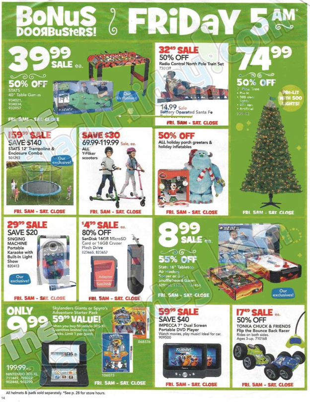 Toys R Us Black Friday ad 2013 14