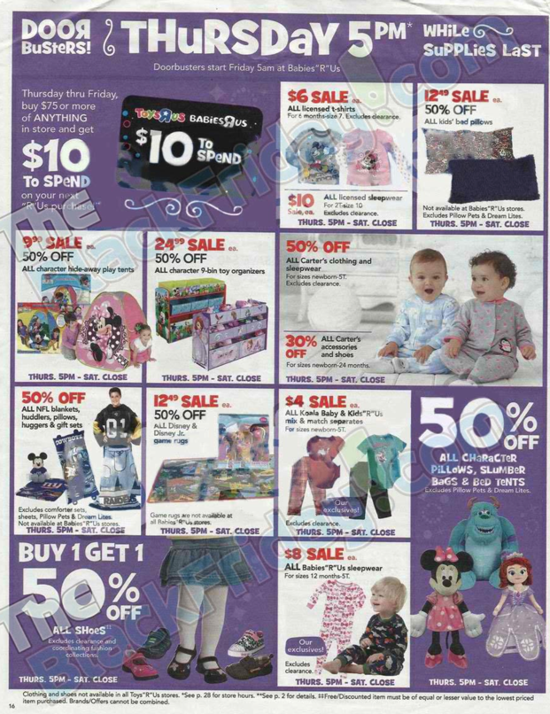 Toys R Us Black Friday ad 2013 16