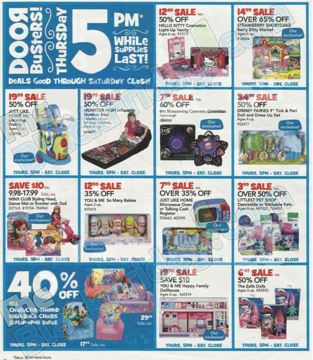 May The Fourth Be With You Toys R Us: Toys R Us Black Friday Ad