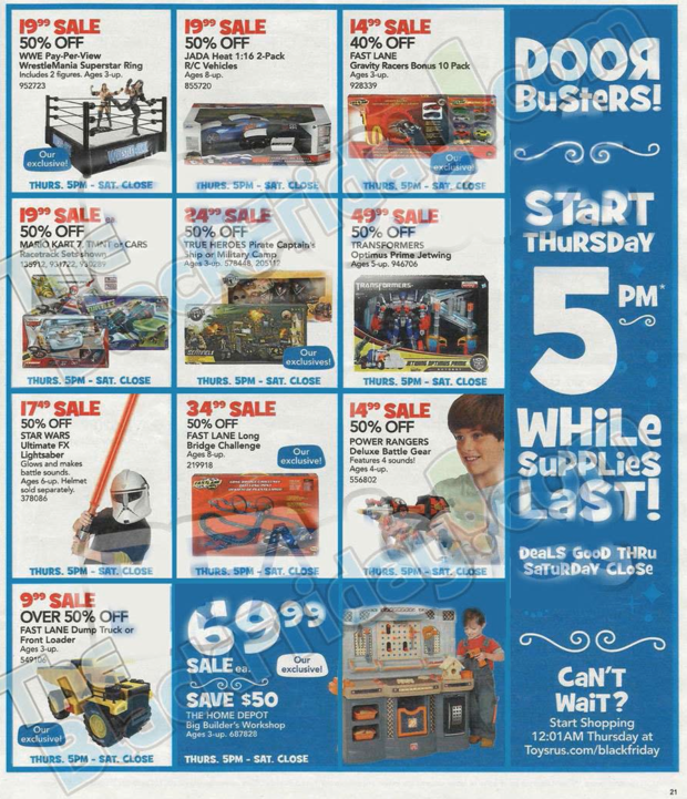 Toys R Us Black Friday ad 2013 20